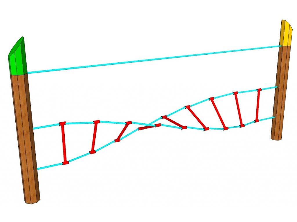 Nízká lana spirálový žebřík AKÁT katalog