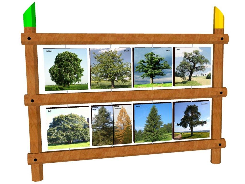 Edukační otočný panel s grafikou 1,5x1,8 AKÁT katalog