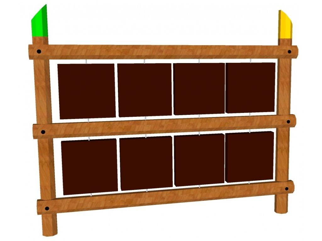 Edukační otočný panel s kreslícími tabulkami 1,5x1,8 AKÁT katalog