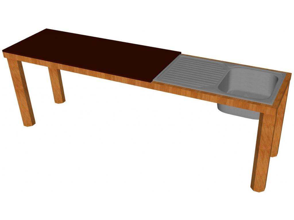 Stůl s dřezem katalog