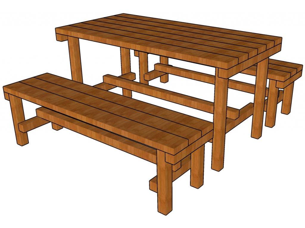 Stolek s lavicí do školky mobilní katalog