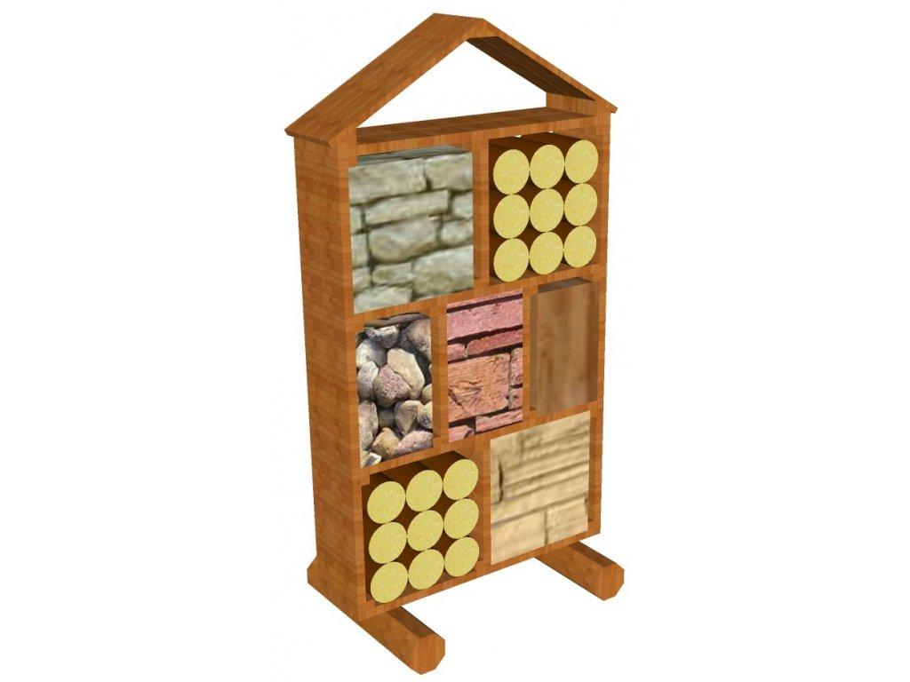 Hmyzí domek 0,26x1x1,5 AKÁT katalog