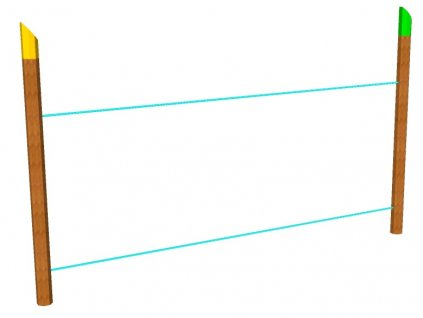 Nízká lana lanová lávka AKÁT katalog