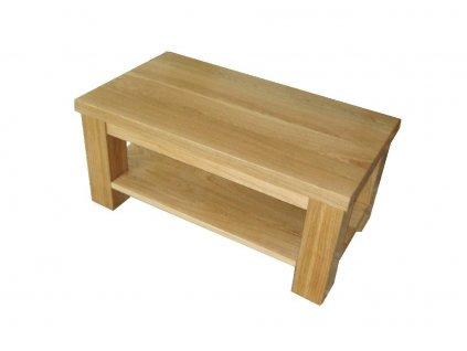 klasik dubový konferenční stůl s policí