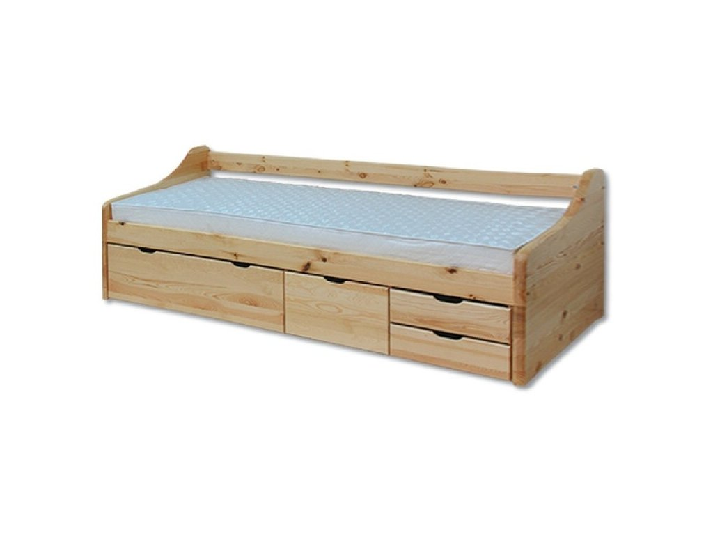 KL-131 postel se zásuvkami
