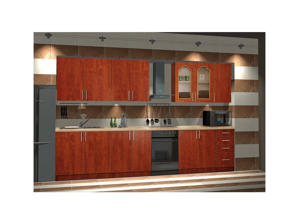 Kuchyně NORA 260 de LUX hruška bez PD