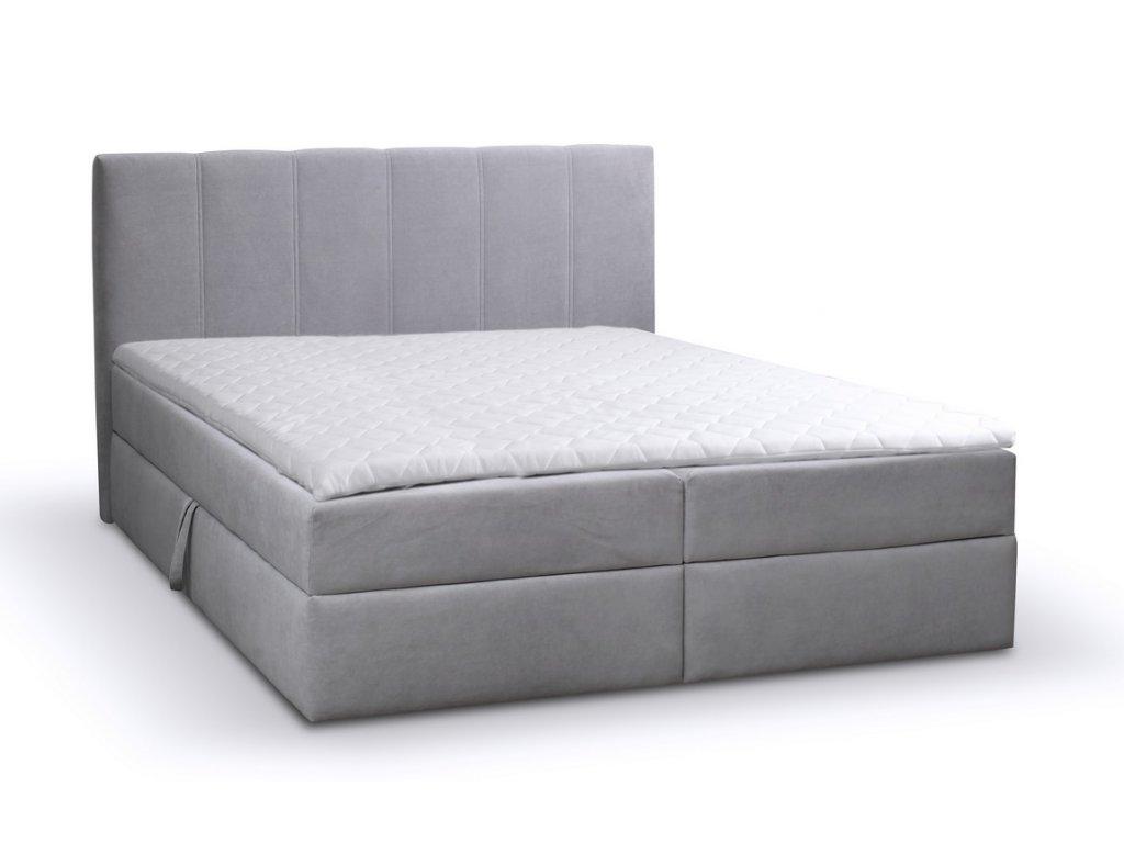 Čalouněná postel s ÚP EVENA 140 MONO 244