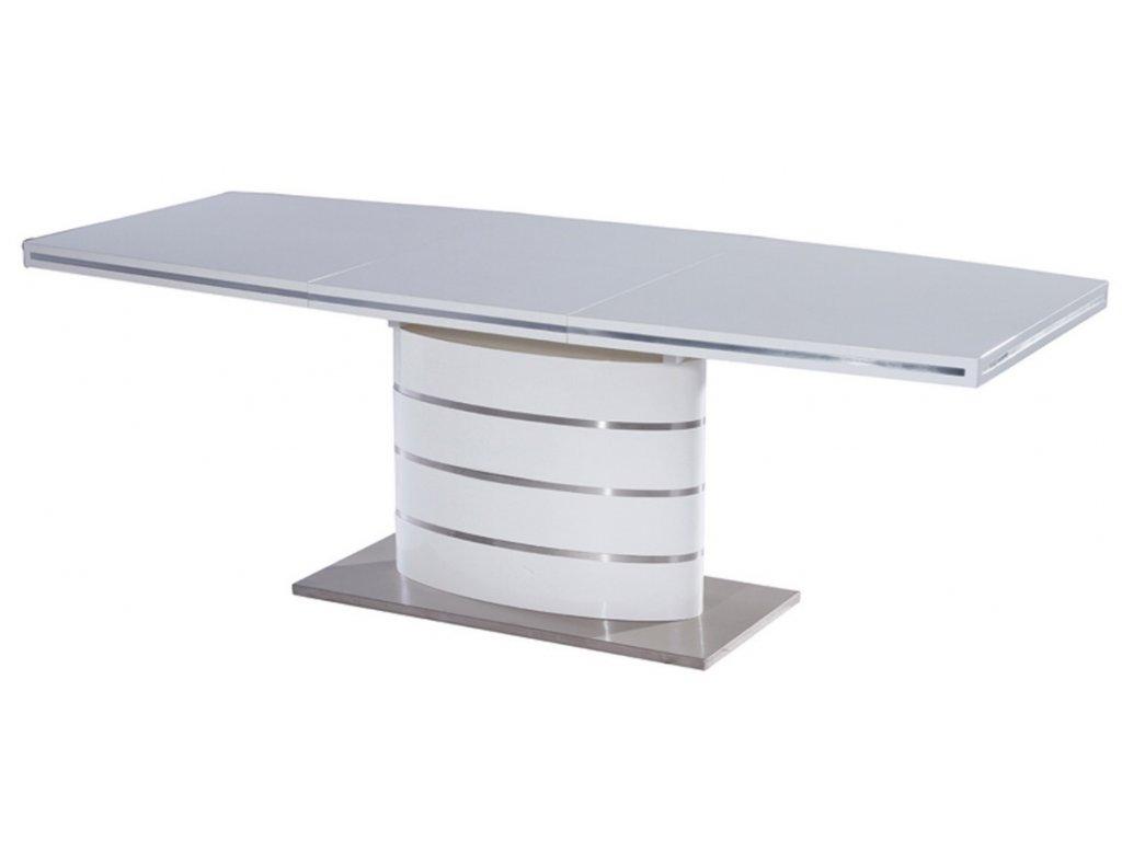 Jídelní stůl FANO 120 bílý rozkládací