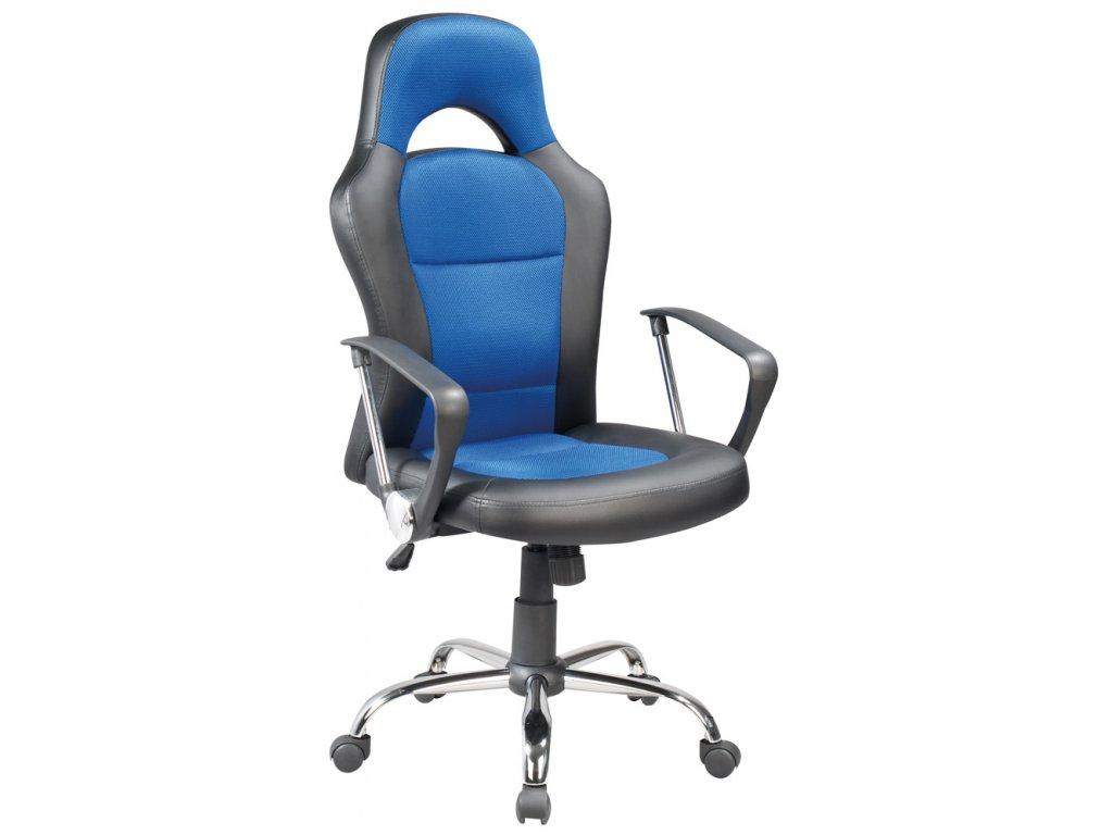 Kancelářské křeslo Q-033 modrá