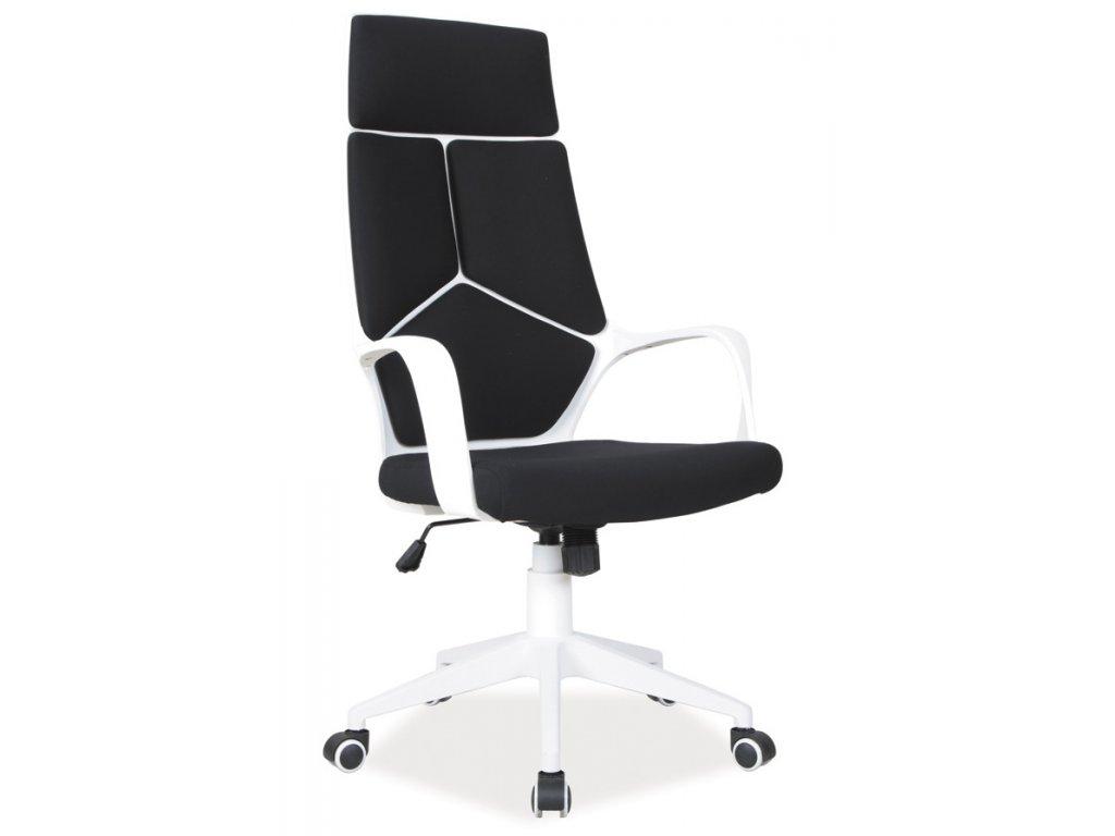 Kancelářské křeslo Q-199 černá/bílá
