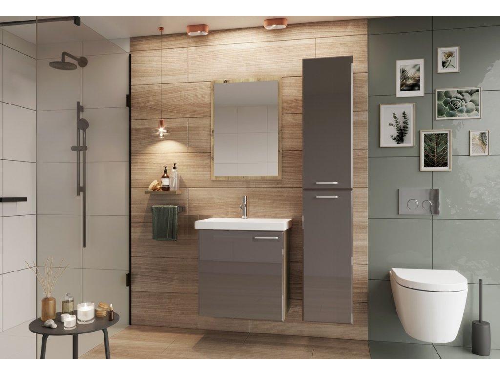 Koupelnová sestava DUNDALK I béžová lesk