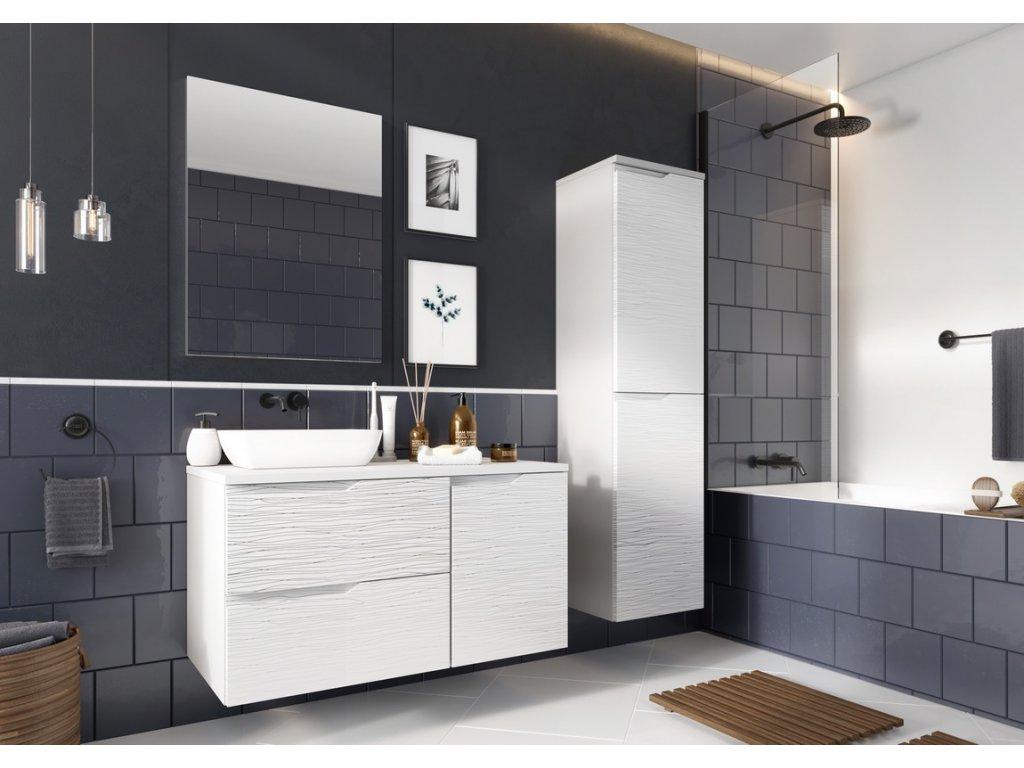 Koupelnová sestava NARAN bílá hologram
