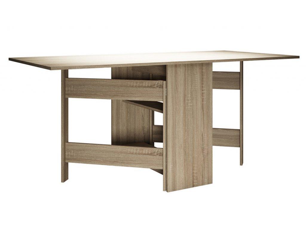 Skládací stůl MADELAINE dub sonoma
