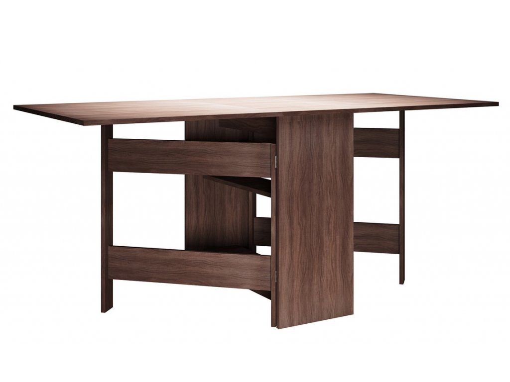 Skládací stůl MADELAINE jasan šimo tmavé