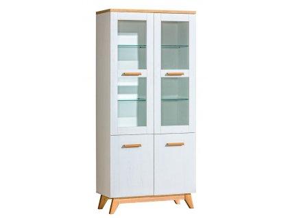 SVEEN SV3 vitrína 2-dveřová andersen/nash