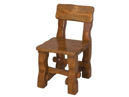OM-098 zahradní židle s opěradly brunat