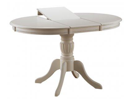 Jídelní stůl OLIVIA rozkládací bianco