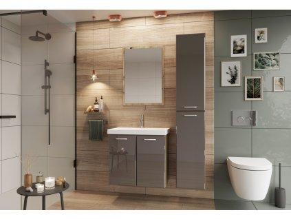 Koupelnová sestava DUNDALK II béžová lesk