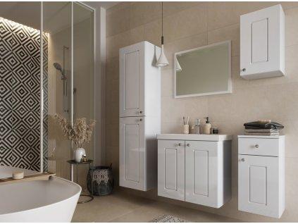 Koupelnová sestava ARMOY II bílá lesk