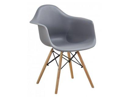Jídelní židle Indiana šedá