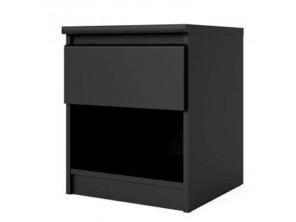 Noční stolek Simplicity 082 černý MAT