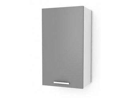 Kuchyňská skříňka Natanya G301D bílý lesk