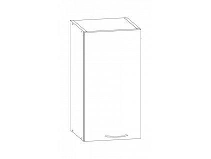 Kuchyňská skříňka Largo 07/G30 sonoma světlá