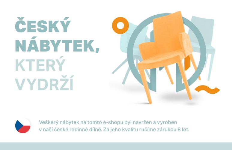 Kvalitní český nábytek, který vydrží