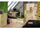 Ego - zelený hravý nábytek do dětského pokoje