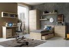Orestes - nábytek nejen do dětského pokoje v dekoru dubového dřeva