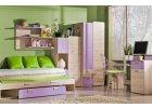 Ego - fialový nábytek do dětského pokoje