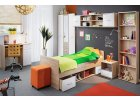 Emio - bílý dubový nábytek nejen do dětského pokoje