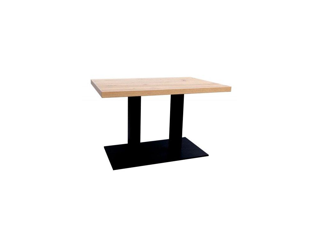 Konferenční stolek na kovové podnoži - VÝPRODEJ