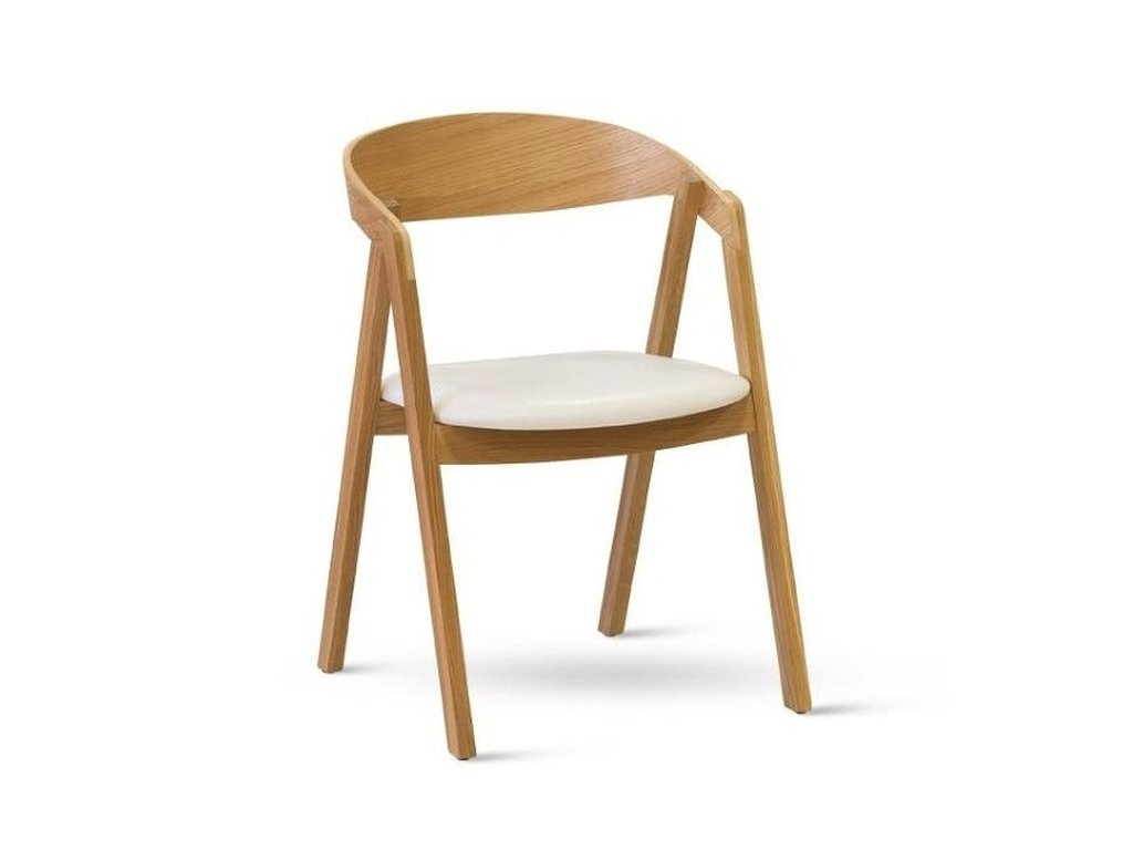 Židle GURU dub, čalouněné