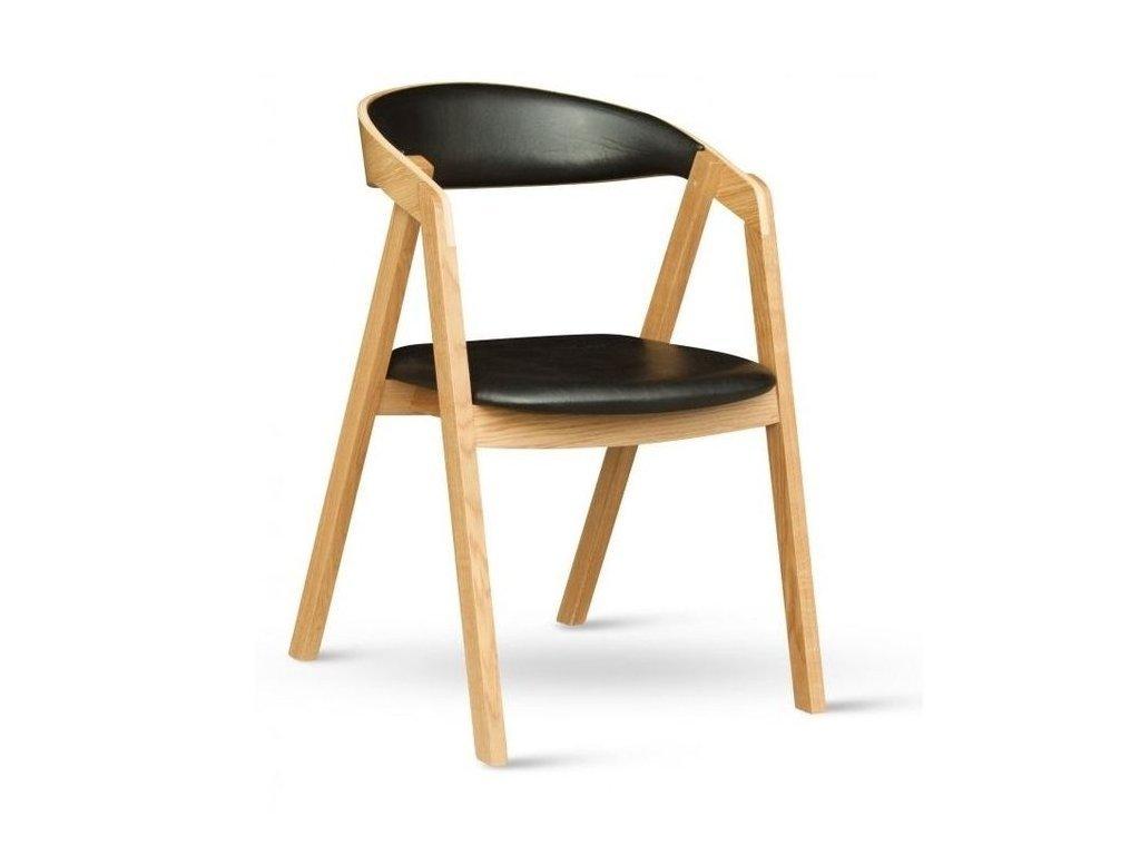 Židle GURU dub, čalouněné AKCE
