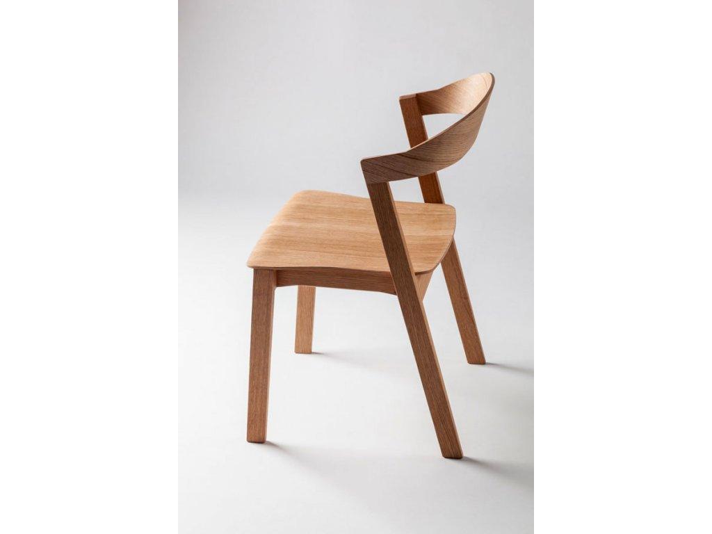 Židle MAROKO hladká - dub
