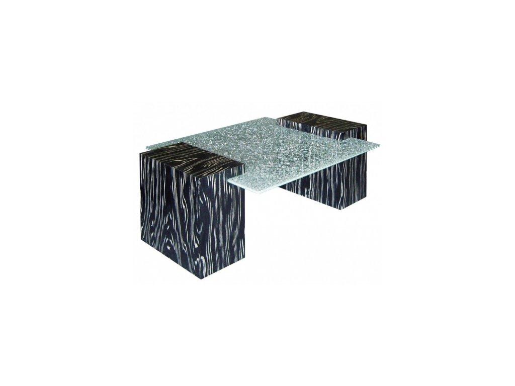 Konferenční stůl DUO sklo - VÝPRODEJ
