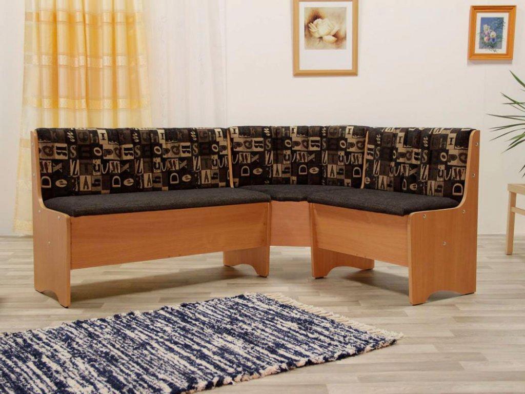Rohová jídelní lavice BLANKA