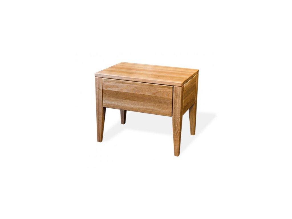 Noční stolek NS 230 dubový masiv