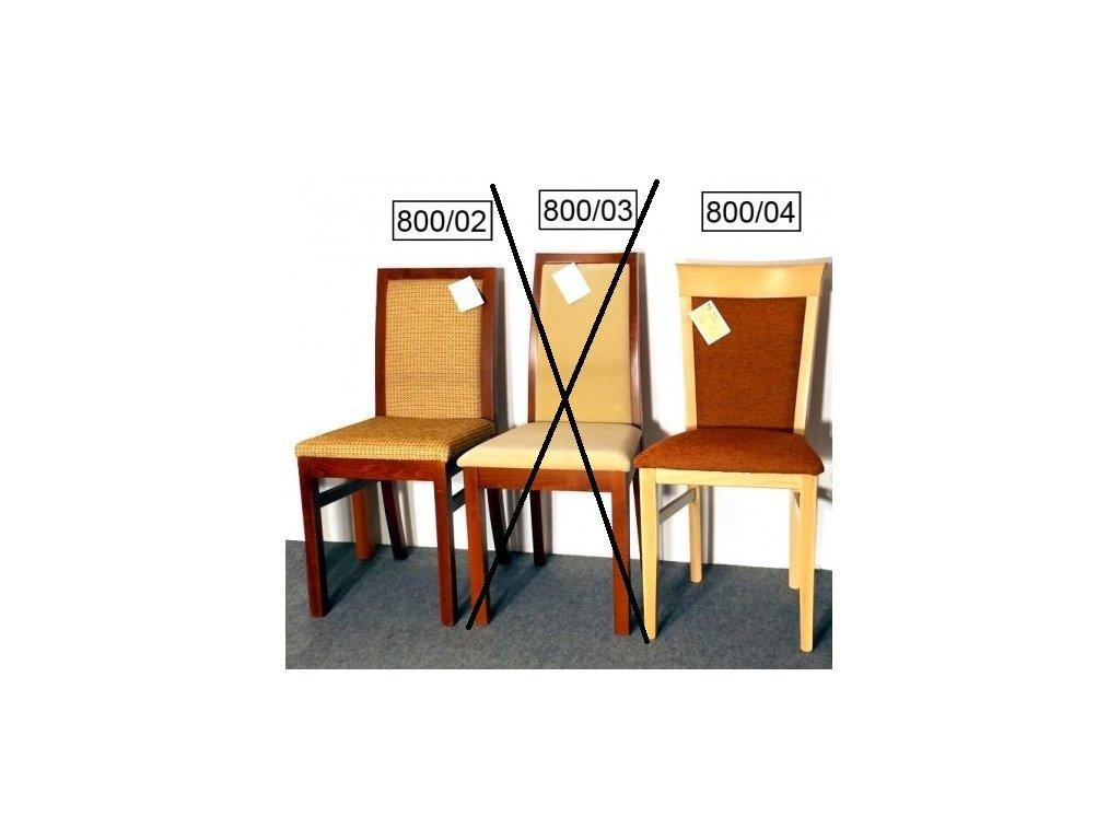 Židle po 1 ks - VÝPRODEJ