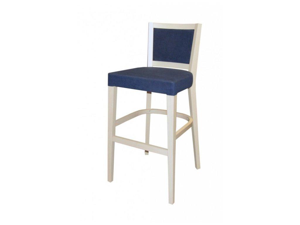Barová židle B 483 VÝPRODEJ 2 ks