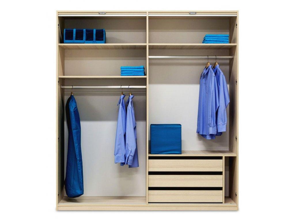 Automatické LED osvětlení skříně GRANDE