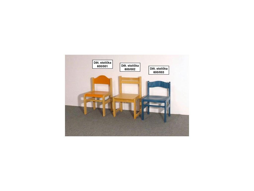 Dětské stoličky po 1 ks - VÝPRODEJ