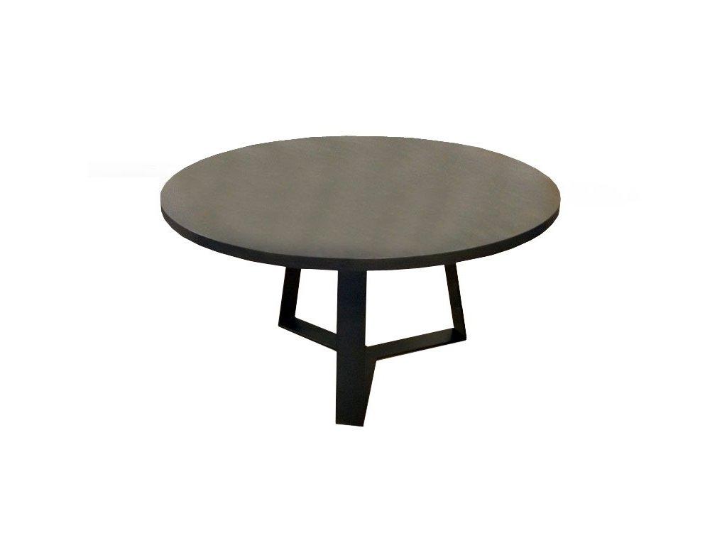 Stůl METRO - dýha dub, pr. 140 cm