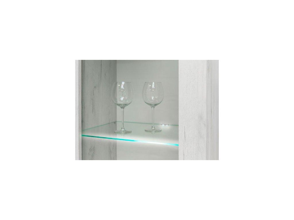 Sada LED osvětlení na jednu vitrínu ADEL