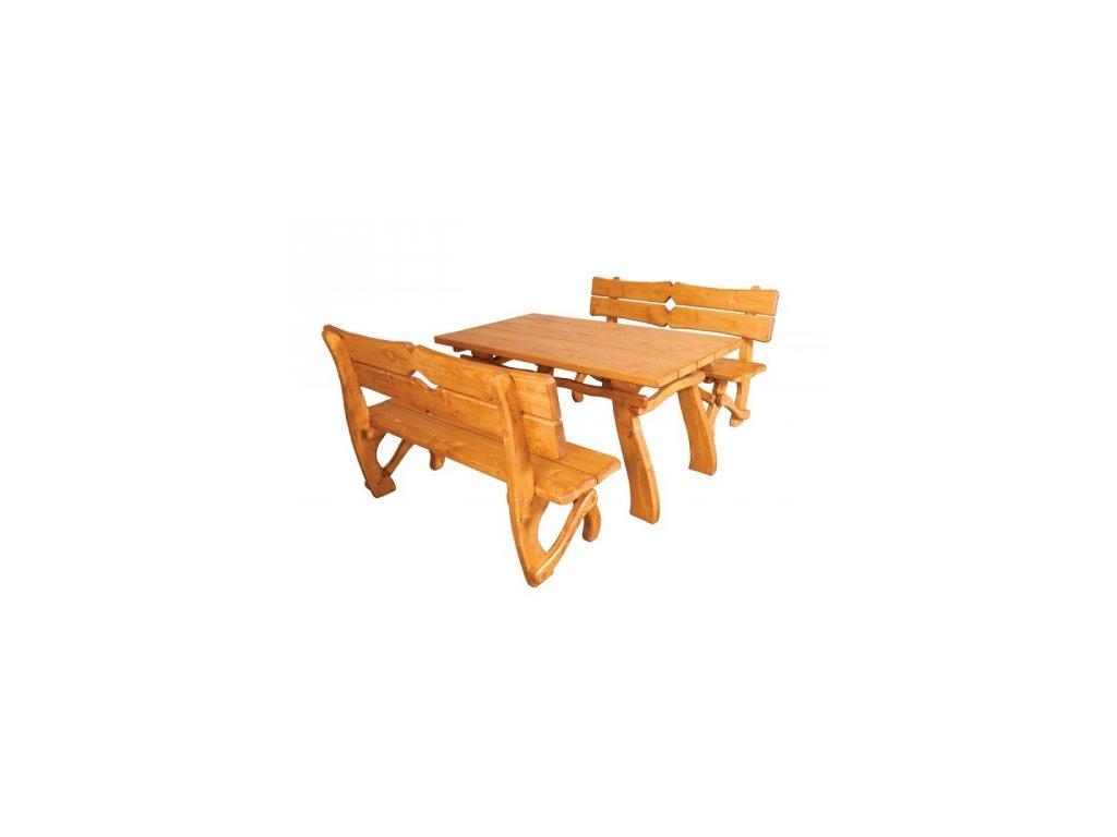 Stůl k zahradnímu nábytku ZN 241, set si skládáte sami