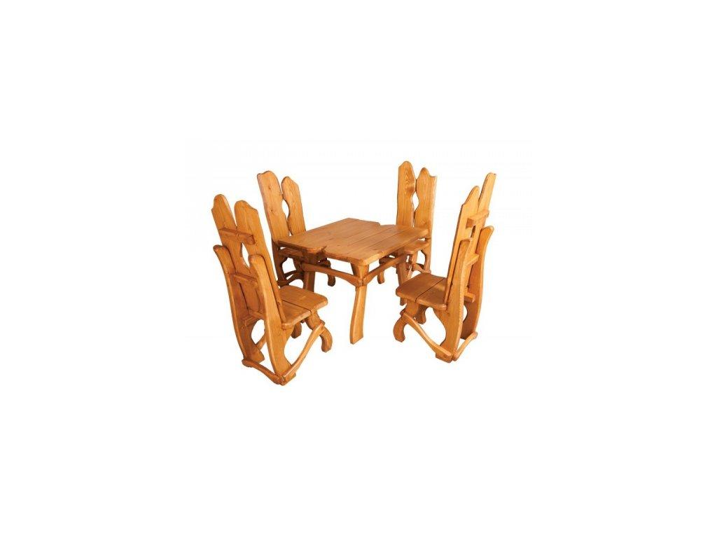 Židle k zahradnímu nábytku ZN 240, set si skládáte sami
