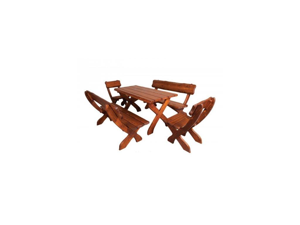 Stůl k zahradnímu nábytku ZN 230, set si skládáte sami