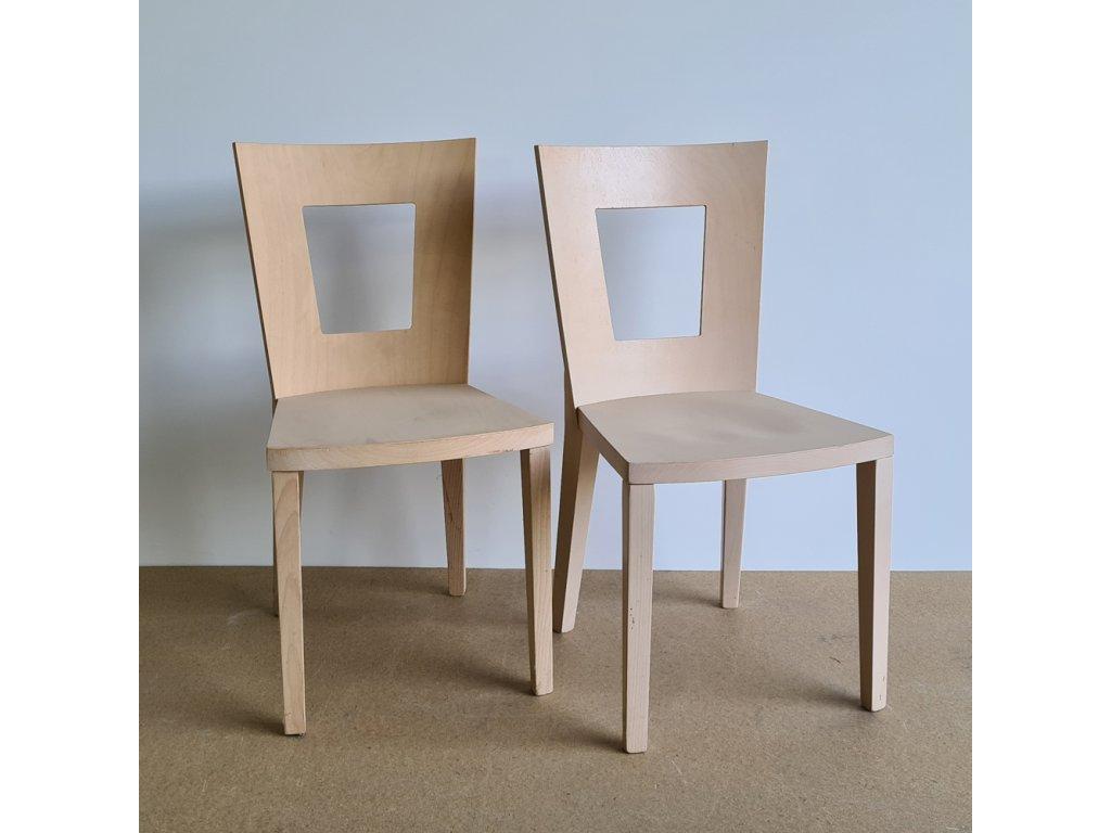 Židle 381 - buk více bělený
