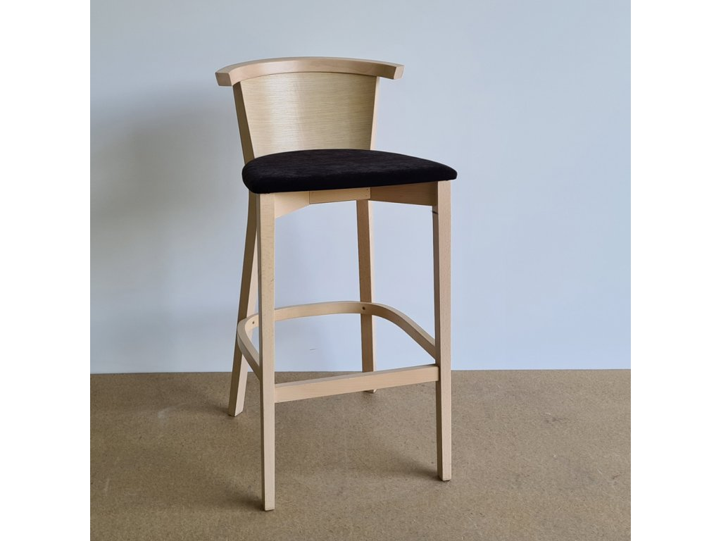 Barová židle č. 3287 dýha dub